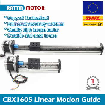 CNC Linear Guide Stage Rail Motion Slide 100 200 300 400 500mm Table Ball Screw linear actuator stepper XYZ stage For 3D printer цена 2017