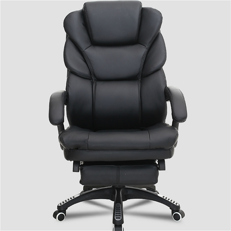 Thicken Lie Flat Computer Chair Lifted Rotated Office Boss Chair Reclining Hairdressing Makeup Chair With Footrest Lifted Armres