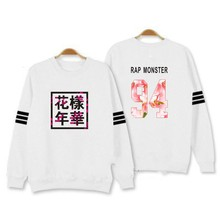 Streetwear Bangtan Jungen Kpop BTS Hoodies Sweatshirts Buchstabe Gedrucktes in J-HOPE 94 und SUGA 93 JUNG KOOK 9 männer winter clothing
