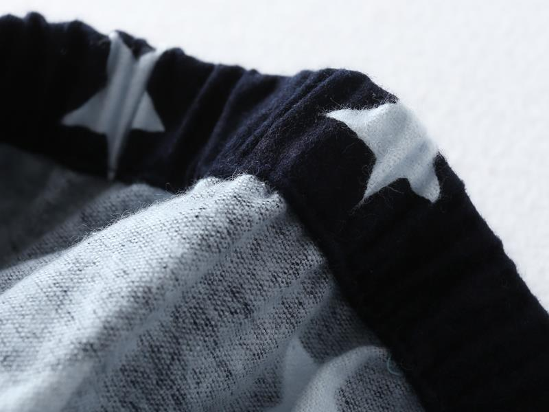 Fashion stars sale pyjamas for man 100% brushed cotton casual winter pajamas sets men sleepwear pijamas male pajamers for men 17