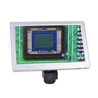 5.0MP 9'' Screen AIO Digital Microscope Camera Tablet usb TF Card 9 Inch FULL HD Tablet Industrial microscope camera