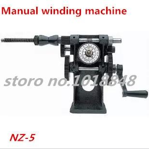 цена на NZ-5 Manual Winding Machine dual-purpose Hand Coil counting winding machine Winder Freeshipping by EXPRESS