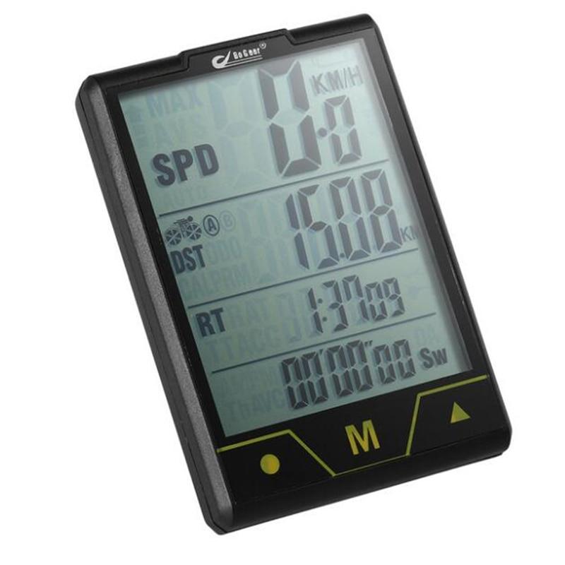 BOGEER Bike Computer Wireless/ Wired Multi Function Sensor Bicycle Bike Speedometer Odometer With Backlight Waterproof ciclismo bogeer yt 833b bike computer