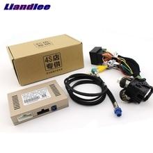 Liandlee câmera reversa interface traseira backup sistema de estacionamento mais para jeep grand cherokee modelo sepcial