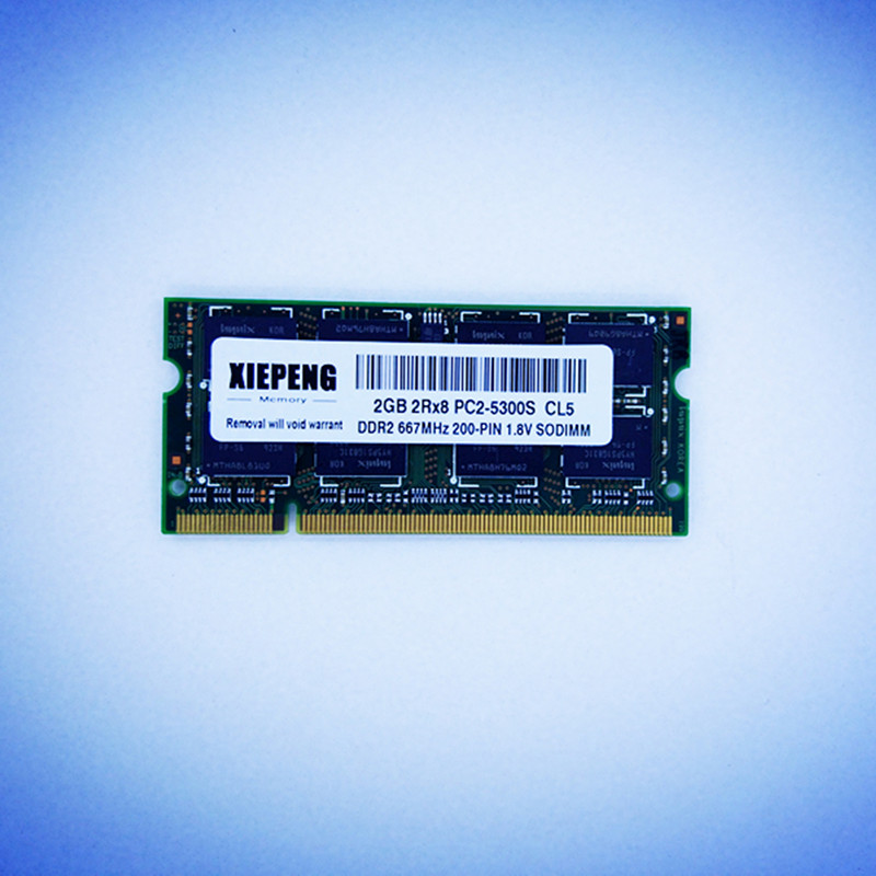 Notebook RAM For MacBook MA255 MA472 MA699 MA700 MA70 MB062 MB062 MB063 MB402 Laptop 2GB 2Rx8 PC2-5300S DDR2 4G 667MHz Memory