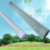 FedEX Free Shipping 12pcs Lot T8 Tube Fixture Support Bracket Stent 1200mm For 2pcs 4ft T8