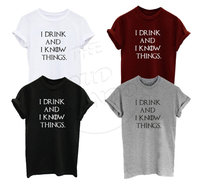 I Drink And Know I Things Tyrion Lannister Game Of Thrones Tumblr Men S Women S