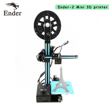 2017 Newest! Easy Assemble Ender-2 3D Printer DIY KIT 3d printer machine Reprap prusa i3 with filament+tools+HotBed A6 A8
