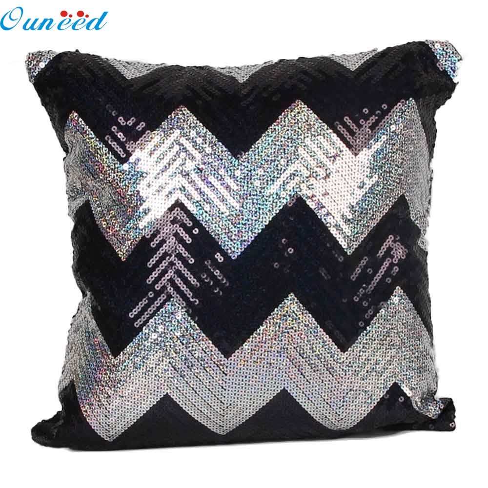 online get cheap cushion cover patchwork aliexpress com alibaba home wider ouneed double color glitter sequins throw pillow case cafe home decor cushion covers jan3 drop shipping