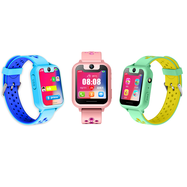 S10 Smart Baby Watch GPS LBS Tracker Camera SOS Call back SIM Position Location Children kids Smart Watch baby for IOS & Android