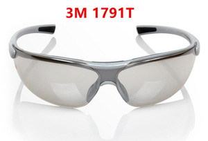 Image 2 - 3M 1791T Silver reflective lens Goggles Indoor Outdoor Sports Bicycle Anti UV Anti Shock Glasses Anti dust Safety Goggles