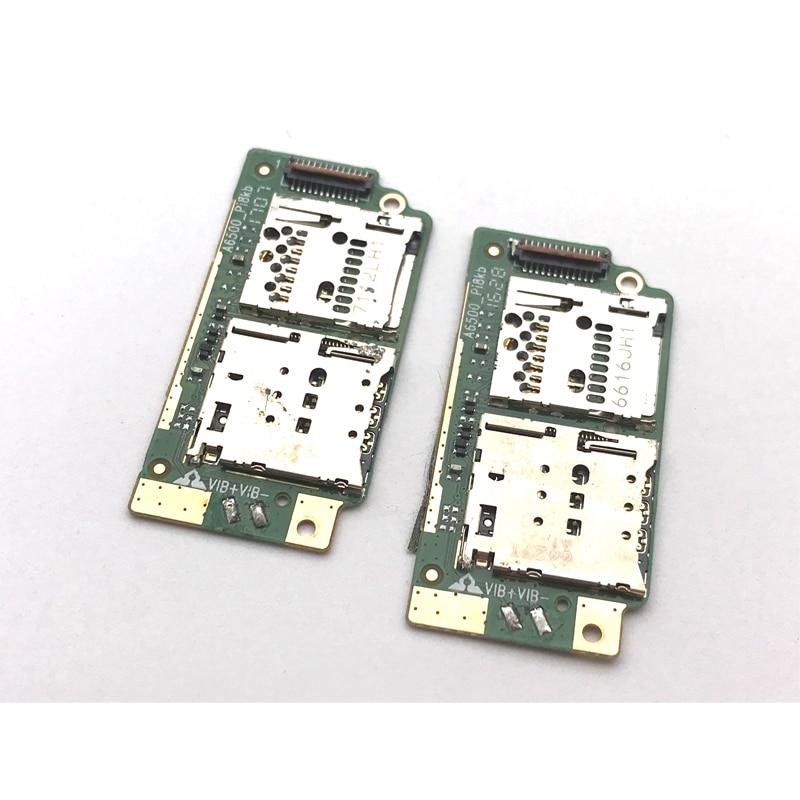 Novo Cartão Sim Leitor Titular Conector de Slot Board Cabo Flex Para Lenovo TB2-X30 TB2-X30L TB2-X30M Peças de Reposição