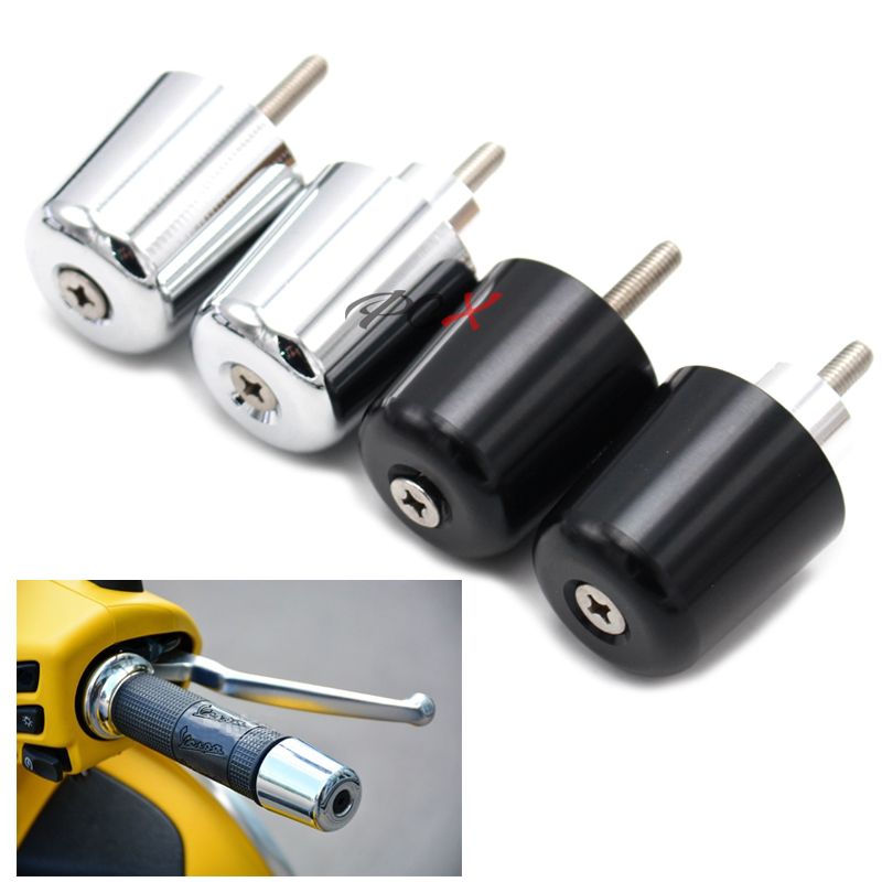 Vespa Motorcycle Accessories Handlebar Grips Handle Bar Cap End Plugs For Vespa LT LX GT GTS GTV 60 125 150 200 250 300 300ie