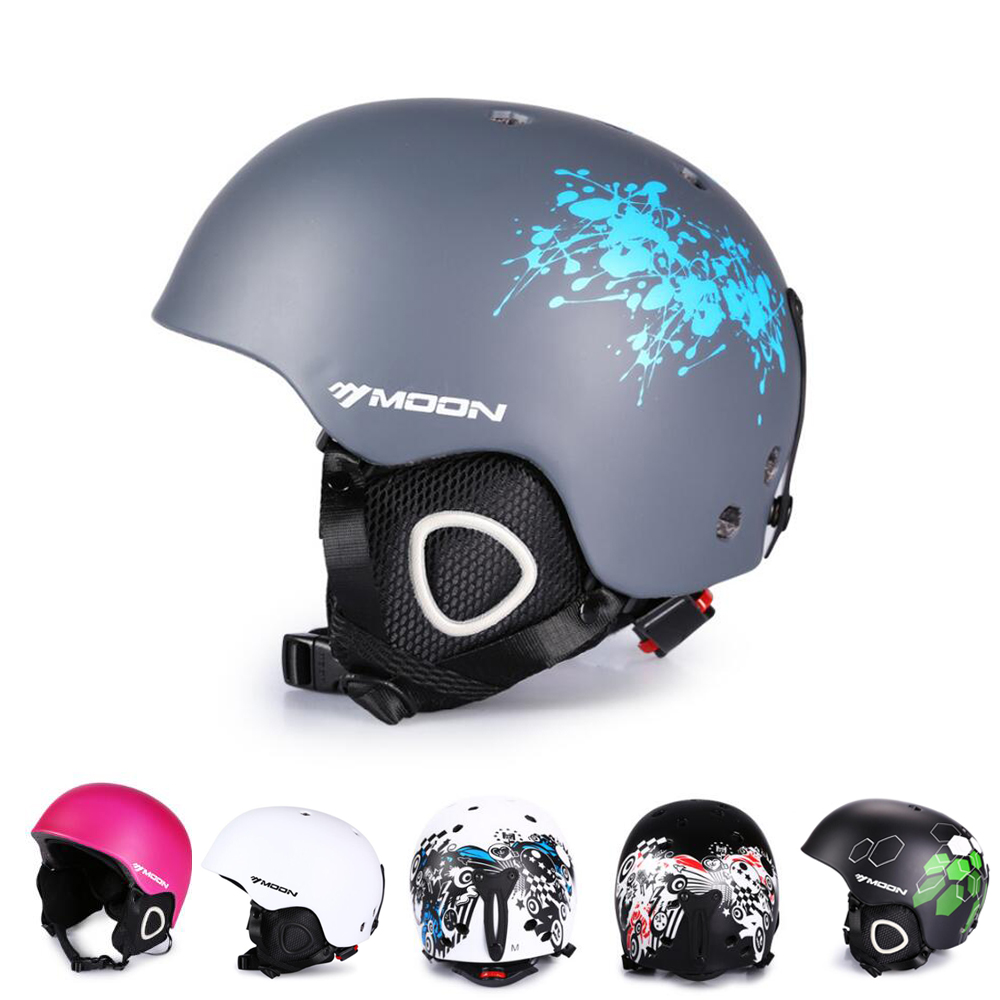 Ultimate Lightweight Ski Helmet Size M/L, Snowboard Helmet for Men Women with Detachable Earmuffs to Regulate Body Tempareture free shipping new brand ski helmet with abs shell snowboard protection snowboardig skiing helmet with mirror for men women