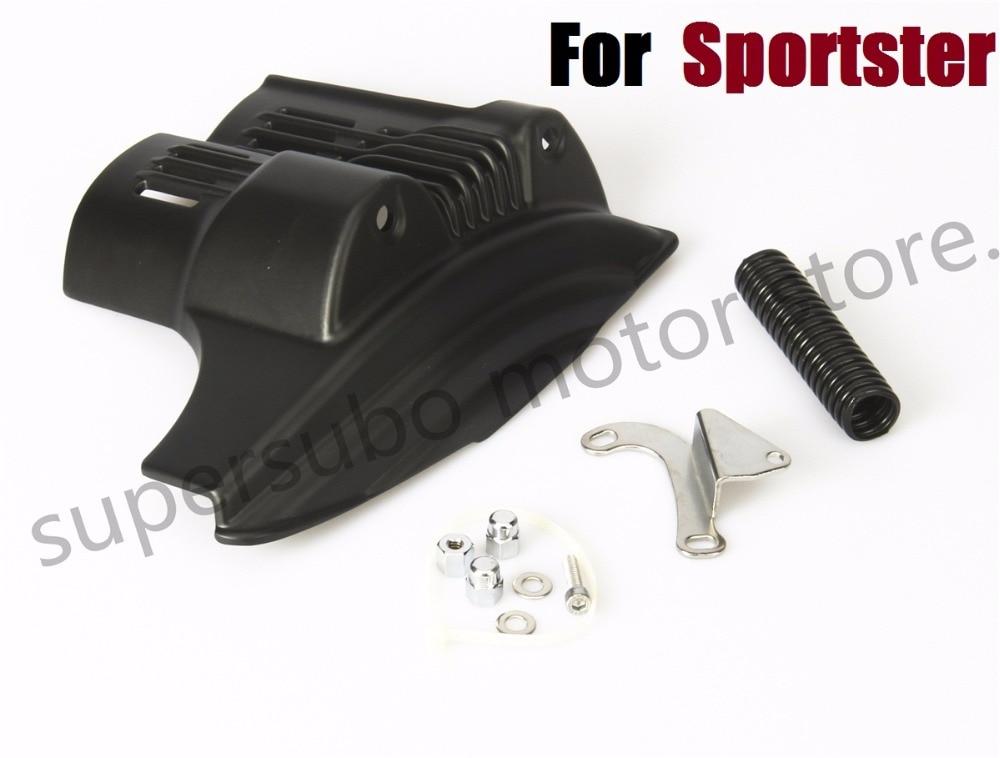 Черный стартер Крышка для Harley Спортстер 883 1200 XL для моделей XL 2004-2009 05 06 07 08 09