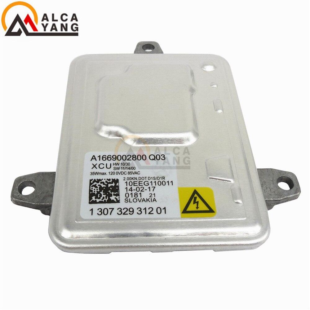 D1S D1R Xenon HID Ballast Control Unit 130732931201 A1669002800 130732926301/130732927200 /130732931201 For Mercedes Reactor