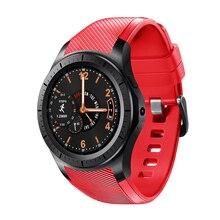 Rodada Relógio Inteligente Relógio GW11 Suporte Bluetooth WiFi 2G/3G Android 5.1 de Freqüência Cardíaca de Fitness Rastreador Smartwatch PK Engrenagem Samsung S3