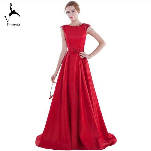 Latest Fashion Banquet Evening Gown Cap Sleeve Ladies Lace Up ...