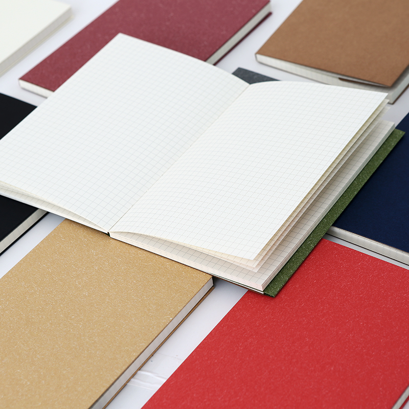 New creative blank squares sketch diary notebook Six colors to choose Simple and practical stationery luxberry squares