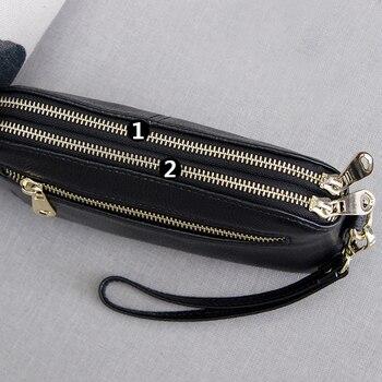 Double Zipper Clutch 2