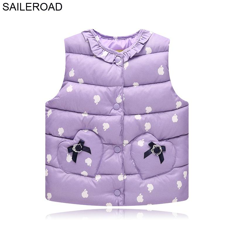 SAILEROAD 18Months-7Years Baby Girls Weskit Outerwear Clothes Autumn Winter Infant Girls Waistcoat Kids Girls Vest ClothingSAILEROAD 18Months-7Years Baby Girls Weskit Outerwear Clothes Autumn Winter Infant Girls Waistcoat Kids Girls Vest Clothing