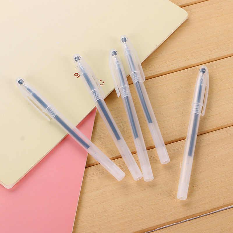 Caneta mágica gel com tinta invisível, material de escritório para escrita infantil