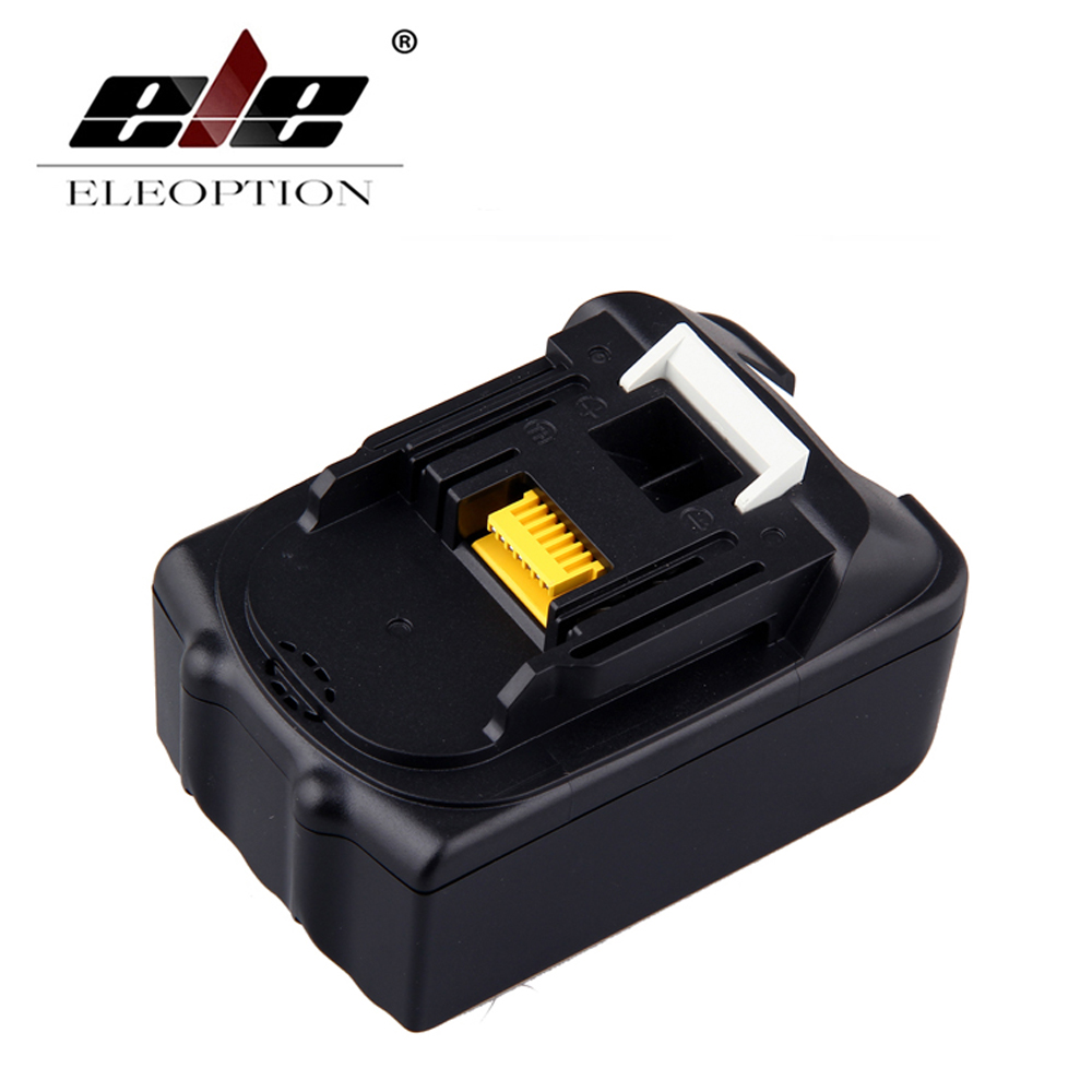ELEOPTION 18V Spare parts Rechargeable batteries for Makita BL1840 LXT Li-ion 4.5Ah 4500mAh Battery Power Tool spares