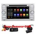 Бесплатная Доставка 2 din Android 5.1 Автомобиль DVD GPS для Ford Focus Kuga Транзит Wifi 3 Г Bluetooth Gps-радио RDS SD Рулевое Ctrol