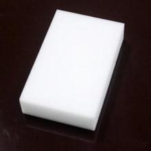 O envio gratuito de 100 pçs/lote atacado branco magia esponja borracha melamina cleaner, multi-funcional limpeza 100x60x10mm