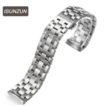 ISUNZUN starfish series T065.430A steel strap is Replacement  for Tissot 1853 все цены