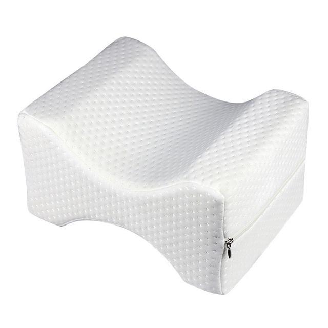 Memória Espuma Travesseiro Perna Corpo Alívio Da Perna Na Altura Do Joelho Almofada Travesseiro Para Dormir Shaping Perna Shaping Maternidade Travesseiro Apoio do Sono Ajuda