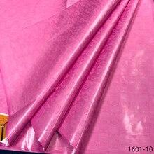 Getzner Brocade Bazin Riche בד 2019 חדש אפריקאי Bazin Riche תחרה בד ניגריה Bazin Riche getzner שמלת 19 צבע 1601