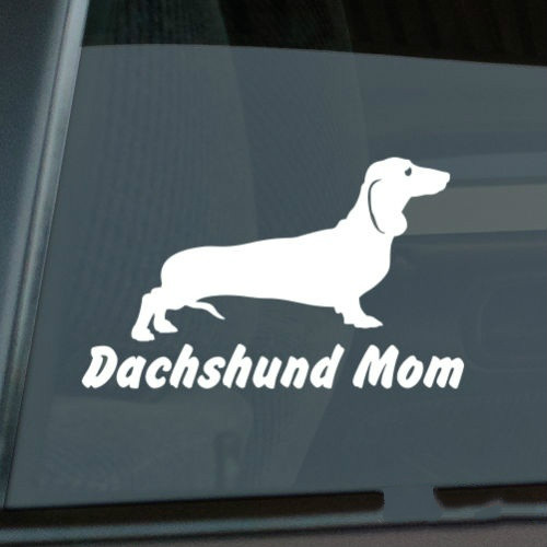 laptop Car sticker wiener dog Permanent stickers Dachshund Vinyl Decal