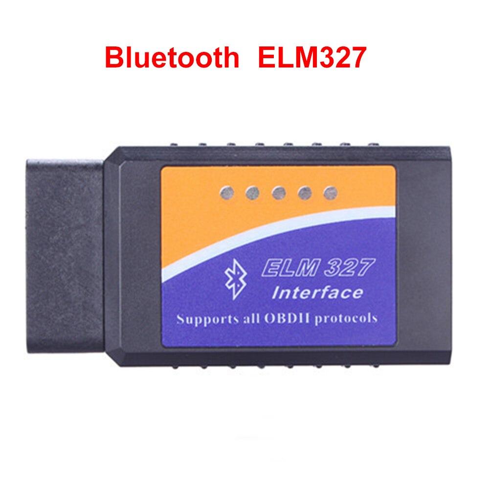 ELM327 V1.5 V2.1 Bluetooth ELM 327 OBDII диагностический Интерфейс OBD2 Авто диагностический сканер для android PC DOS Windows DY141