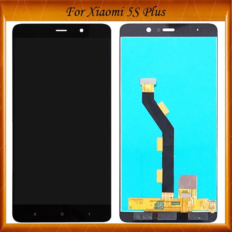 100% de Travail Bien Pour Xiaomi Mi5S Plus Ecran lcd + Écran Tactile Digitizer Assemblée Remplacement Pour Xiaomi Mi5S Plus 5.7 pouce