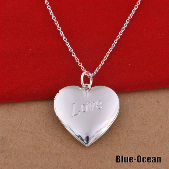 3 Style Women\'s Bijoux Love You 925 Sterling Silver Heart Photo ...