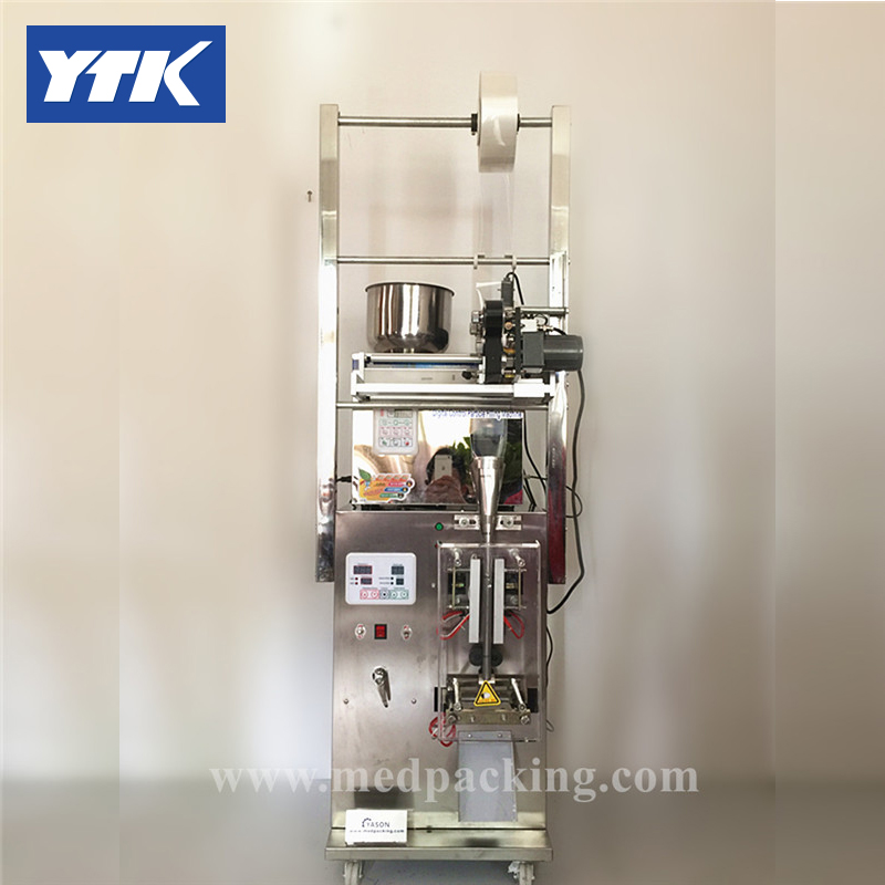 Pillow Type Film Roll Filling And Packing Machine With Date Printer