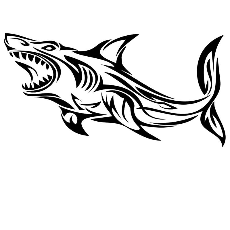 Fishing sticker name shark fish decal angling hooks tackle for Fishing stickers and decals