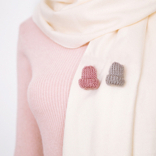 New Arrival Women Girls 1PC 6 Colors Colorful Cute Mini Woollen Hat Brooch DIY Breastpin Clothes Decoration Fashion Jewelry