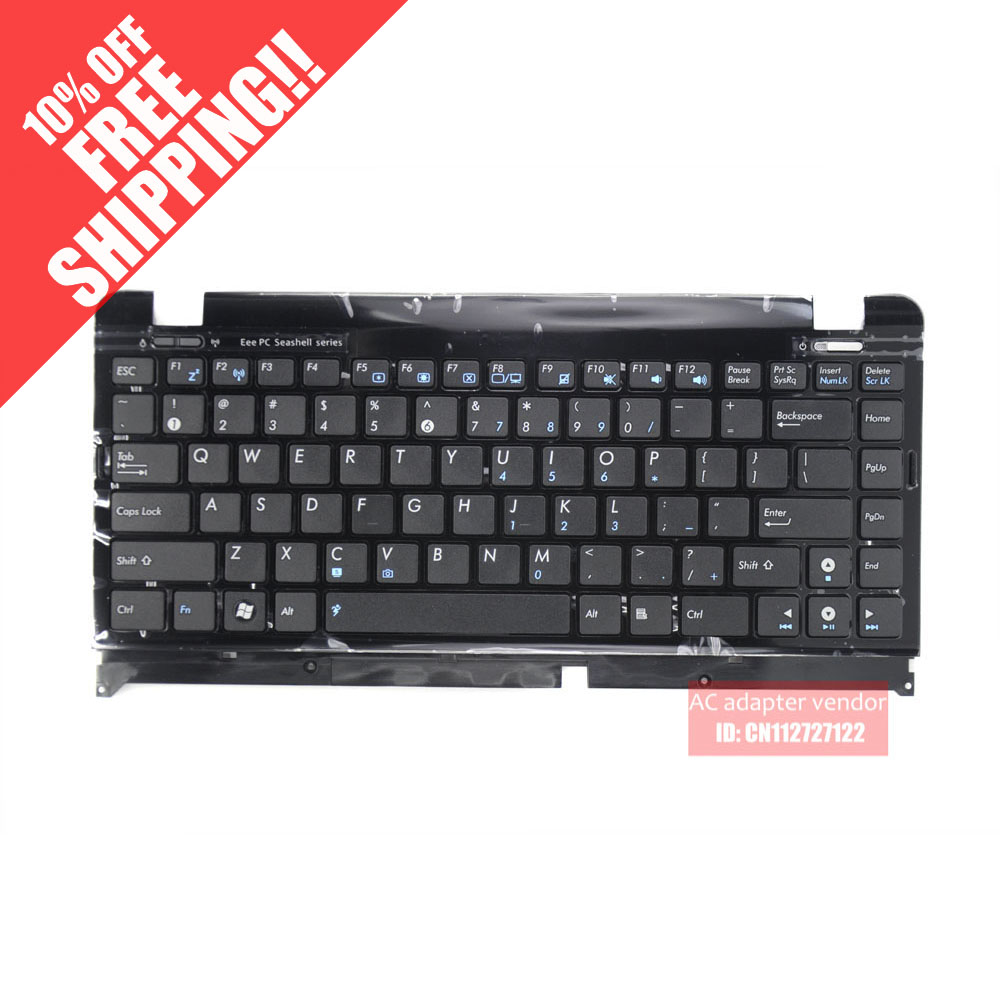 The New FOR Asus EEEPC 1215P 1215N 1215T 1215B Keyboard With Frame