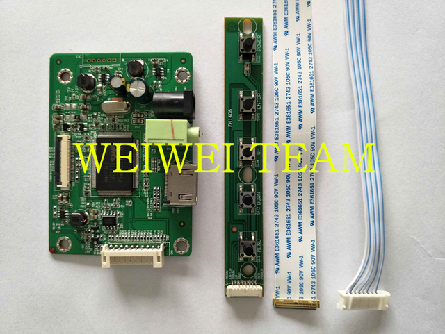 HDMI EDP LCD Controller Driver Board Module for Raspberry PI 3 1920x1080  Signal 2 Lanes 30 Pins Display Panel