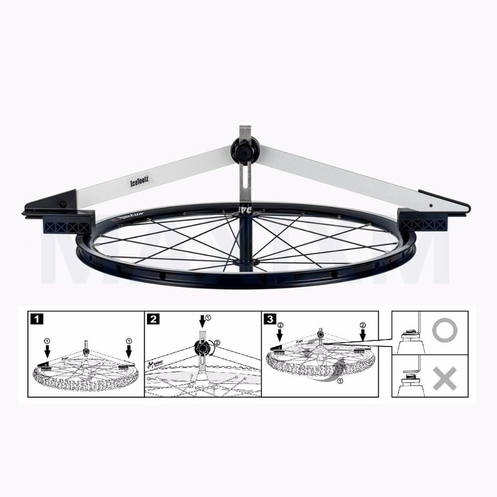 Wheel Centering Gauge for rim size 16~31 bike tool wheel toolbike tool mp620 mp622 mp625 projector color wheel mp620 mp622 mp625