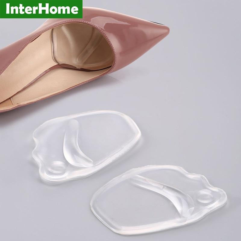 Einlagen & Kissen Gewidmet Invisible Heel Pads Silikon Gel Protector Einfügen Einlegesohle Schmerzen Relief Schuh Pad Kissen Weiche Massage Erhöhen Nicht Slip Hohe Ferse