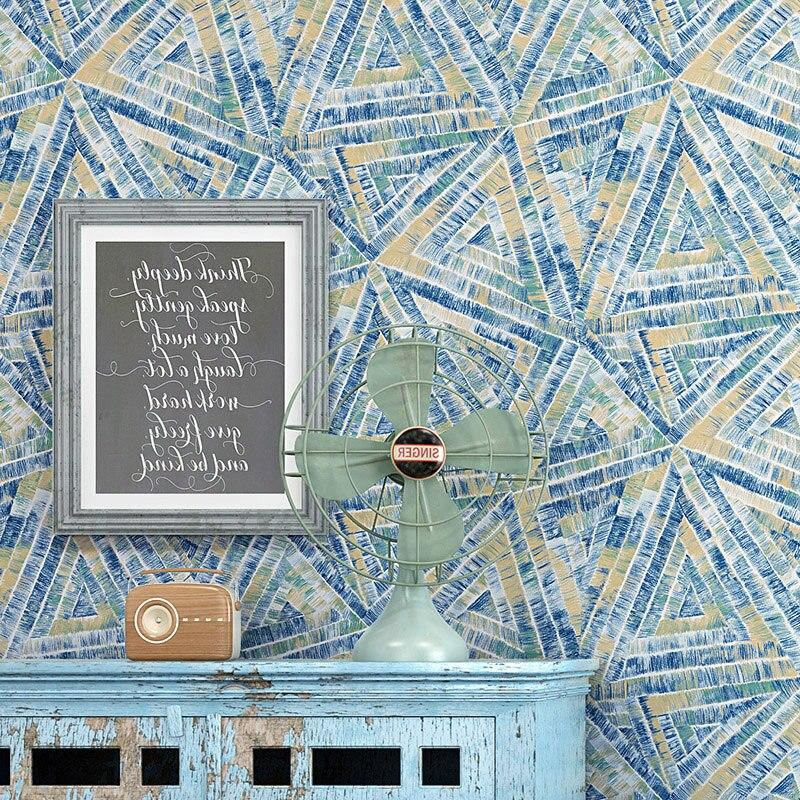 Papier peint Nodic décor à la maison Ins 3D papier peint géométrique personnalisé Vintage abstrait 3D papier peint pour Bar café fond
