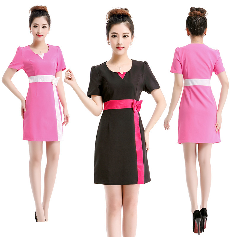 2016 free shipping cute simple summer women medical for Spa uniform colors