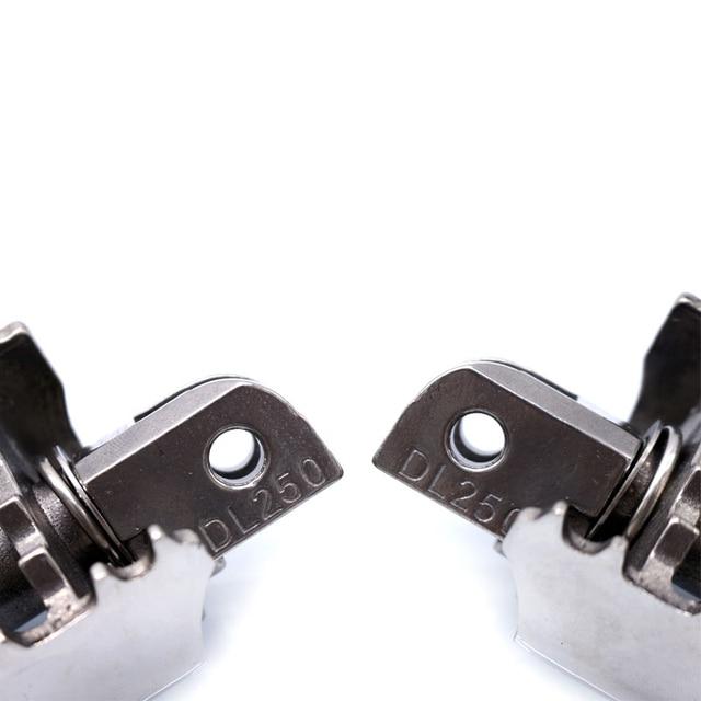 ROAOPP-chevilles à pied argentées | Pour SUZUKI GW250 GW 250 INAZUMA DL250 2017-2018, nouvelle paire