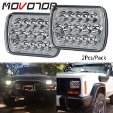 5X7 7X6 inch Rectangular Sealed Beam LED Headlight for H6014 H6052 H6054 H6052 replacements LED Driving Light(China)