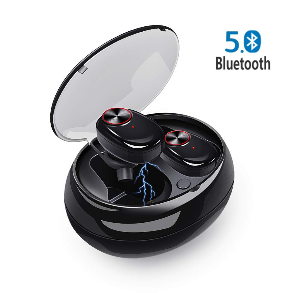 Bluetooth Earphone <font><b>V5</b></font> Wireless Mini Ture <font><b>TWS</b></font> Headphones Earbuds with Bluetooth 5.0 Earphones for iPhone/Samsung/Xiaomi/LG/Tab image