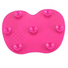 Newest Silicone brush cleaner Cosmetic Make Up Washing Brush Gel Cleaning Mat Foundation