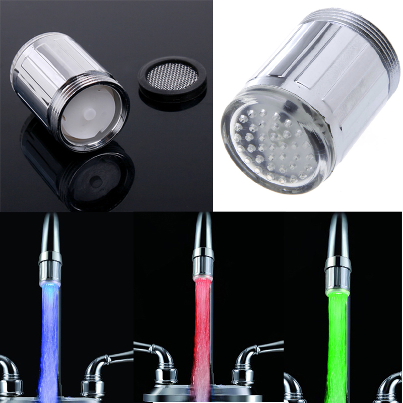 Aliexpress.com : Buy Glow Water LED Faucet Tap Stream